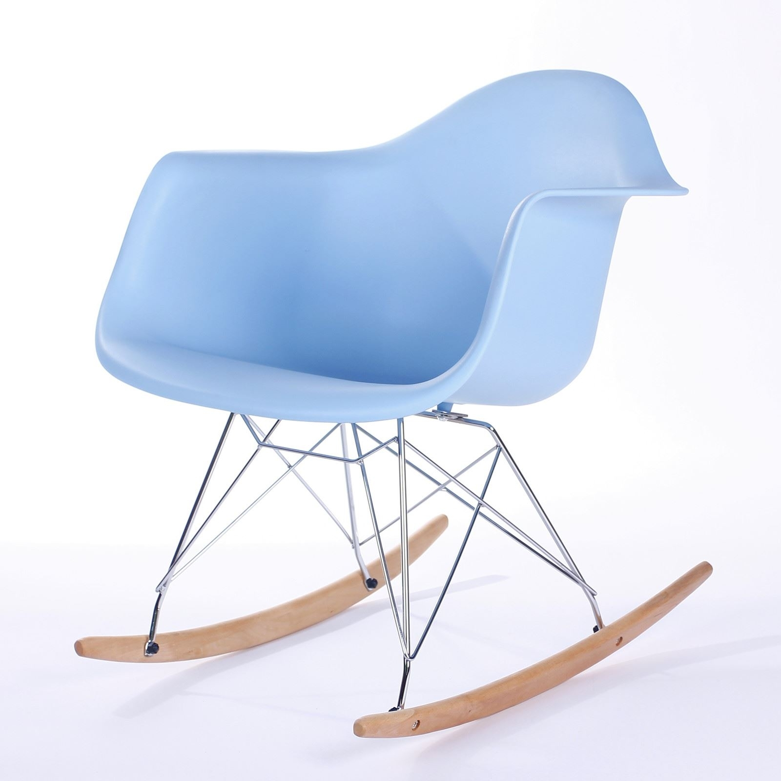 Retro Rar Rocking Chair Dining Chairs Modern Contemporary | Ebay Throughout Retro Rocking Chairs (View 9 of 15)