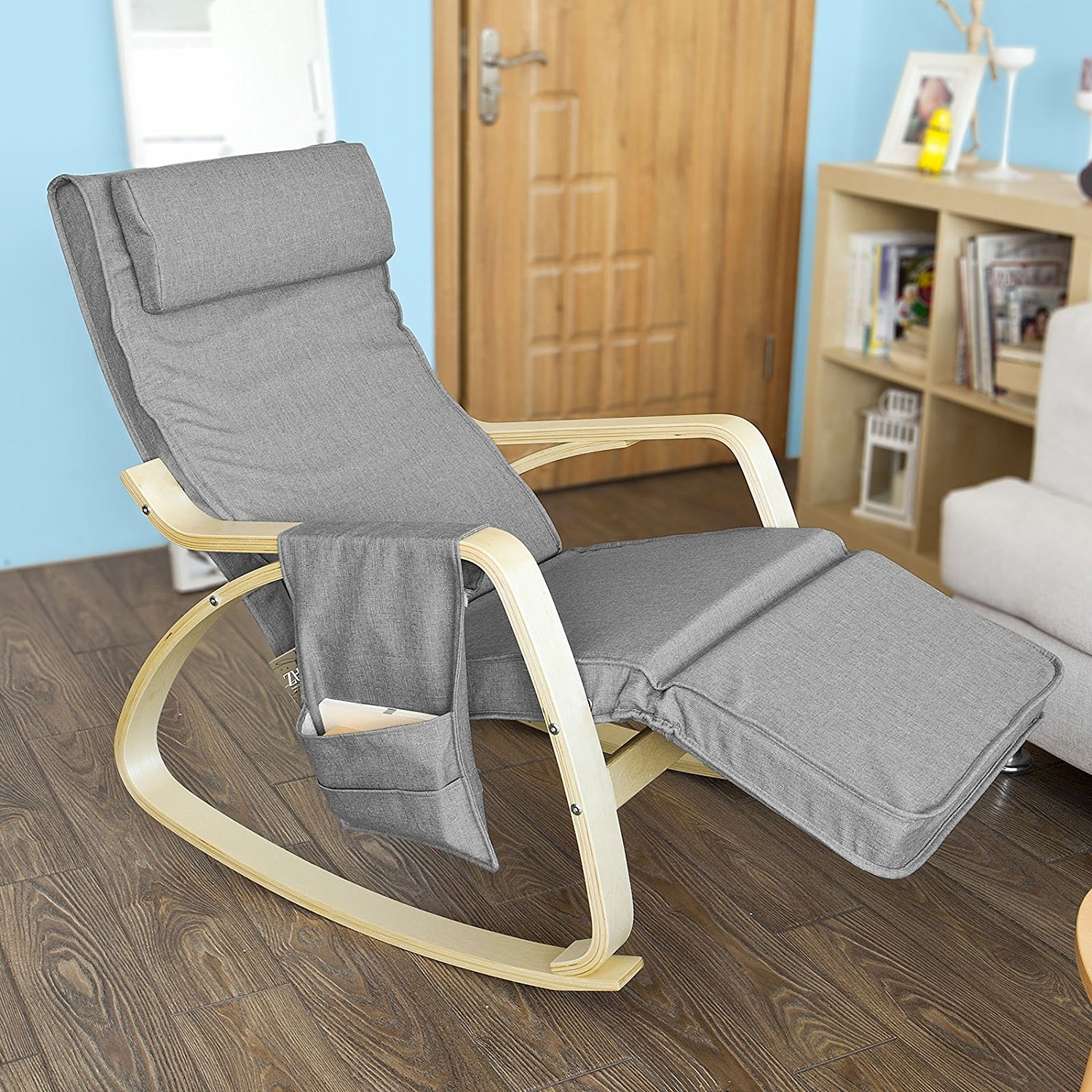 Inspiration about Rock Away Back Pain Using Rocking Chairs/inversiontableplus With Regard To Rocking Chairs With Footrest (#10 of 15)