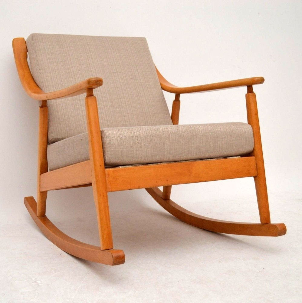 Inspiration about Rocking Chair For Intended Fresh Retro Plan Gauteng Durban With Regard To Retro Rocking Chairs (#8 of 15)