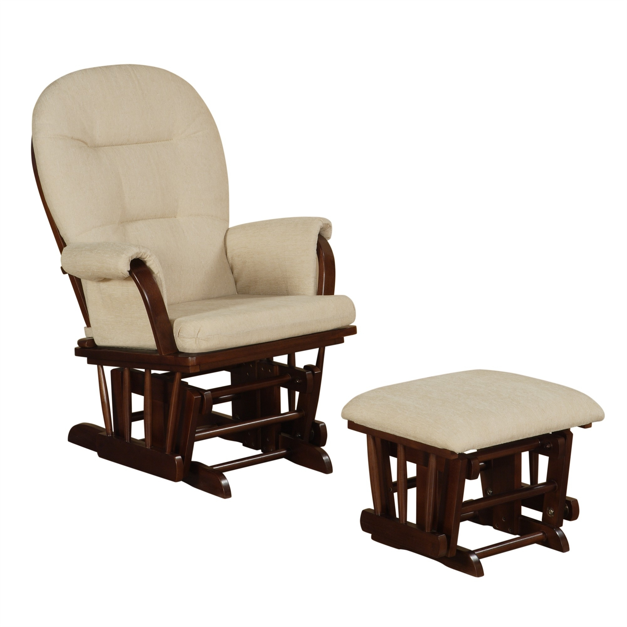 Inspiration about Rocking Chair Glider Nursery Gus Modern Sparrow Glider Regarding Rocking Chairs With Ottoman (#1 of 15)