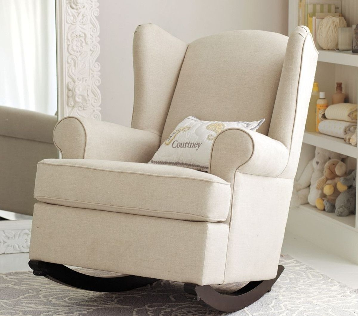 Rocking Chair Nursery Ideas | Rocking Chairs | Pinterest | Rocking Regarding Rocking Chairs For Nursery (#13 of 15)