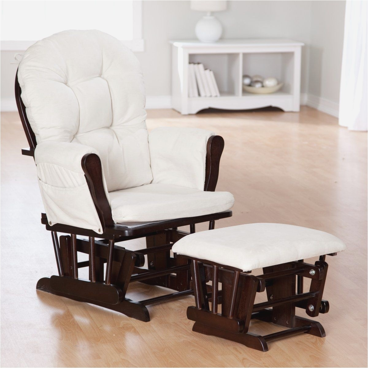 Inspiration about Rocking Chair Ottoman Inspirational Storkcraft Bowback Glider And Within Rocking Chairs With Ottoman (#15 of 15)