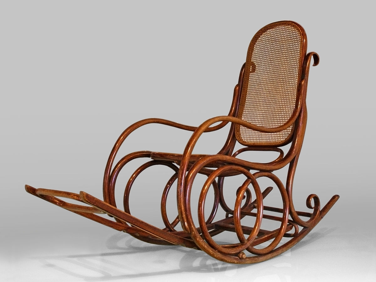 Rocking Chair – Wikipedia Regarding Antique Wicker Rocking Chairs With Springs (#13 of 15)