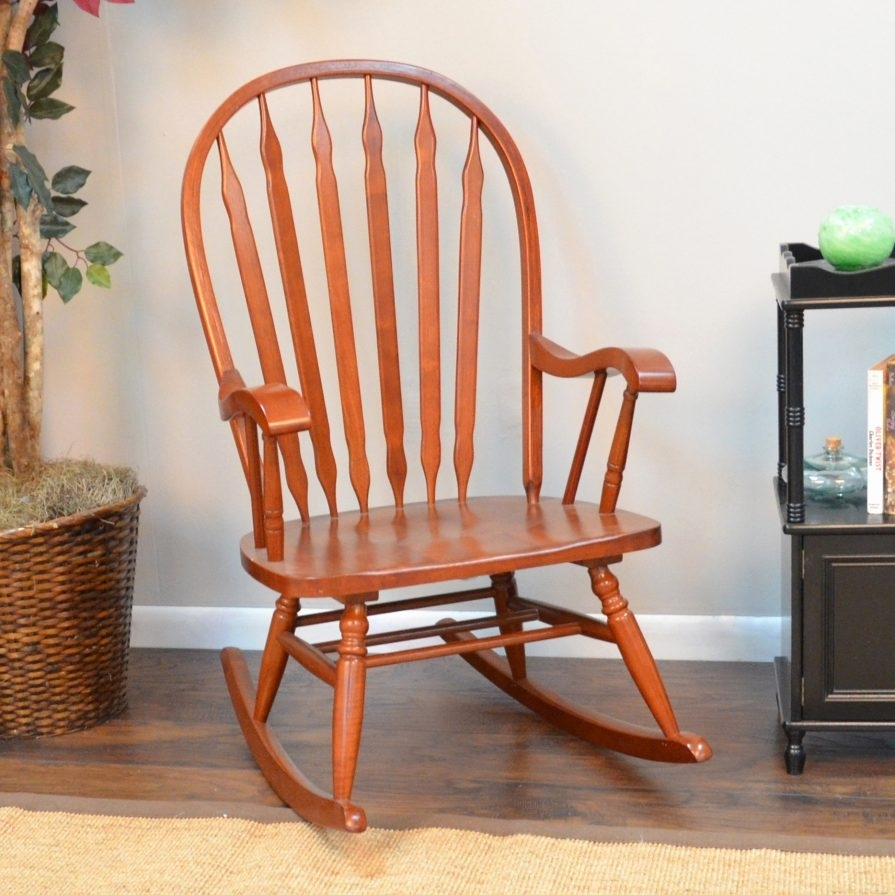 Inspiration about Rocking Chairs : Cracker Barrel Rocking Chair Cushions Crate And In Xl Rocking Chairs (#10 of 15)