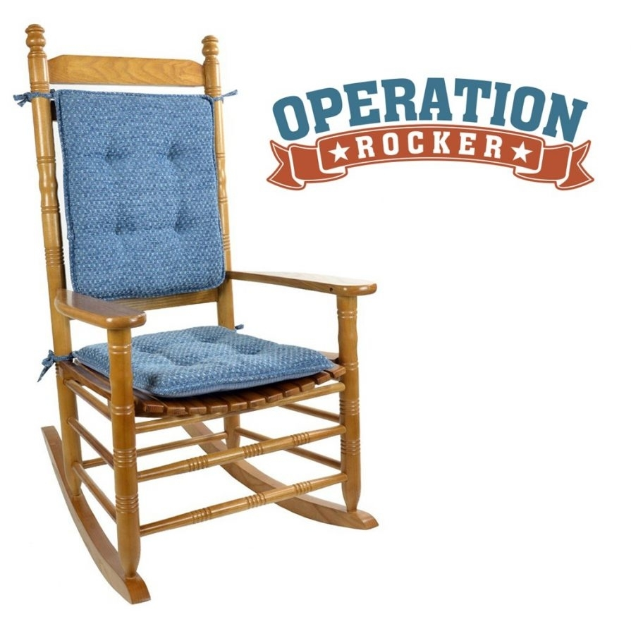 Inspiration about Rocking Chairs : Cracker Barrel Rocking Chair Cushions Crate And Regarding Xl Rocking Chairs (#15 of 15)