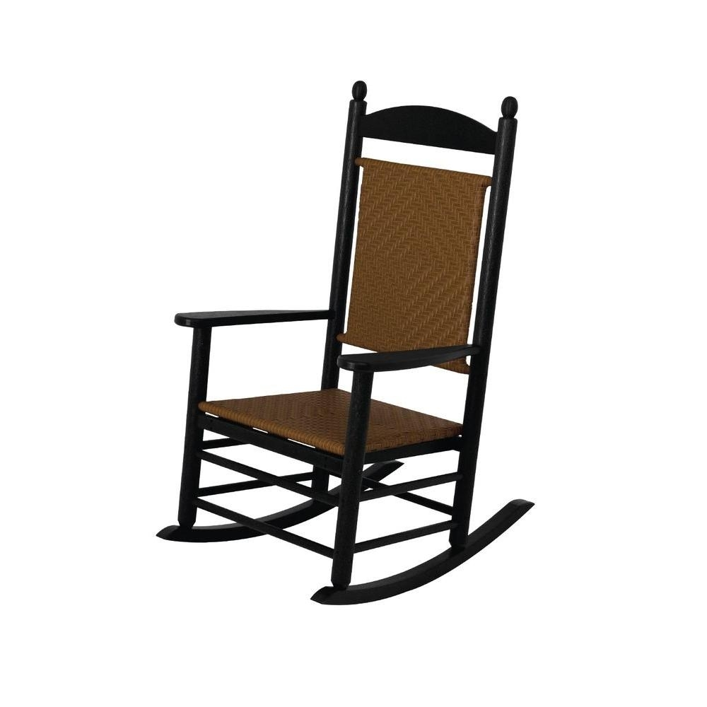 Rocking Chairs – Patio Chairs – The Home Depot Pertaining To Outdoor Vinyl Rocking Chairs (View 10 of 15)