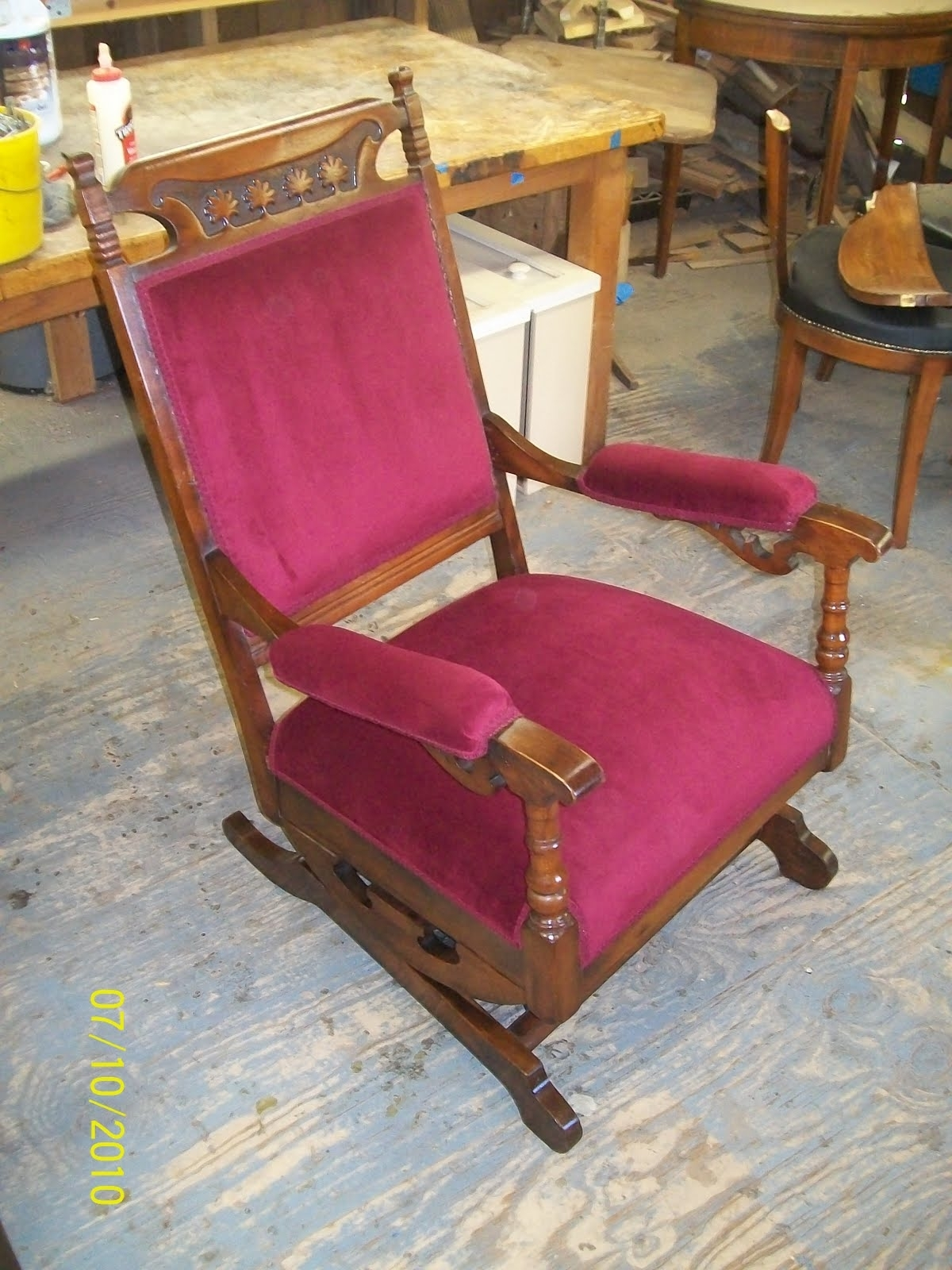 Rocking Chairs : Seng Chicago Chair Representation Cute Nos Antique In Rocking Chairs With Springs (#13 of 15)