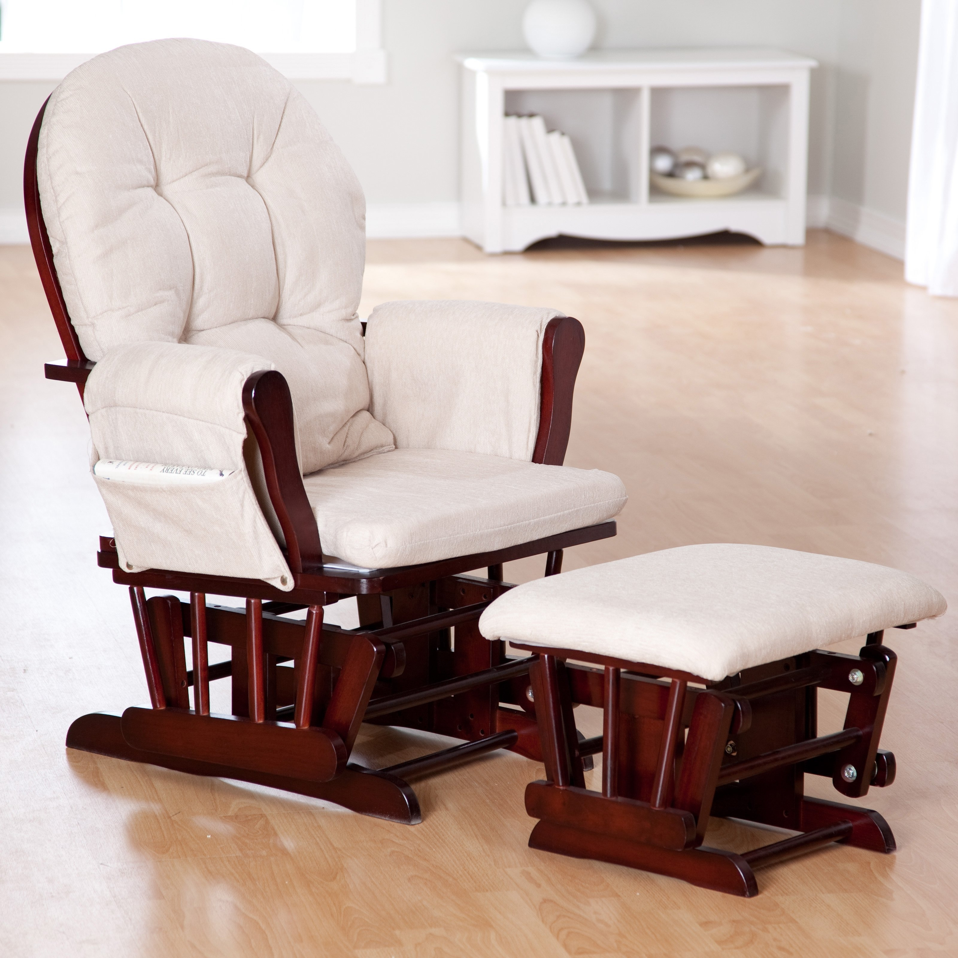 Inspiration about Rocking Nursery Chair – Noakijewelry Within Rocking Chairs With Footstool (#14 of 15)