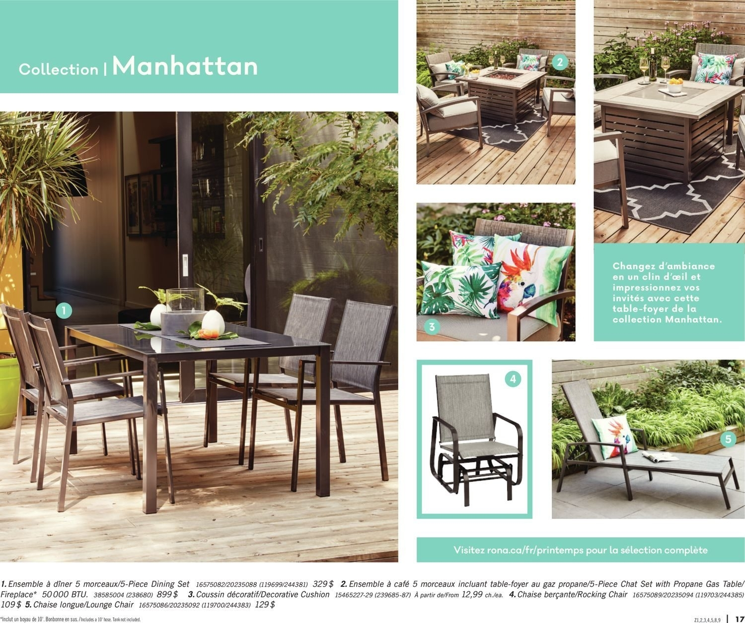 Rona Canada Outdoor Dining Sets – Outdoor Ideas For Rona Patio Rocking Chairs (#10 of 15)