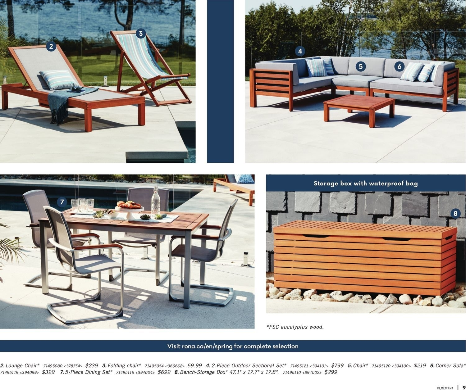 Rona Weekly Flyer – Enjoy Your Backyard – Mar 22 – Apr 25 With Regard To Rona Patio Rocking Chairs (#12 of 15)