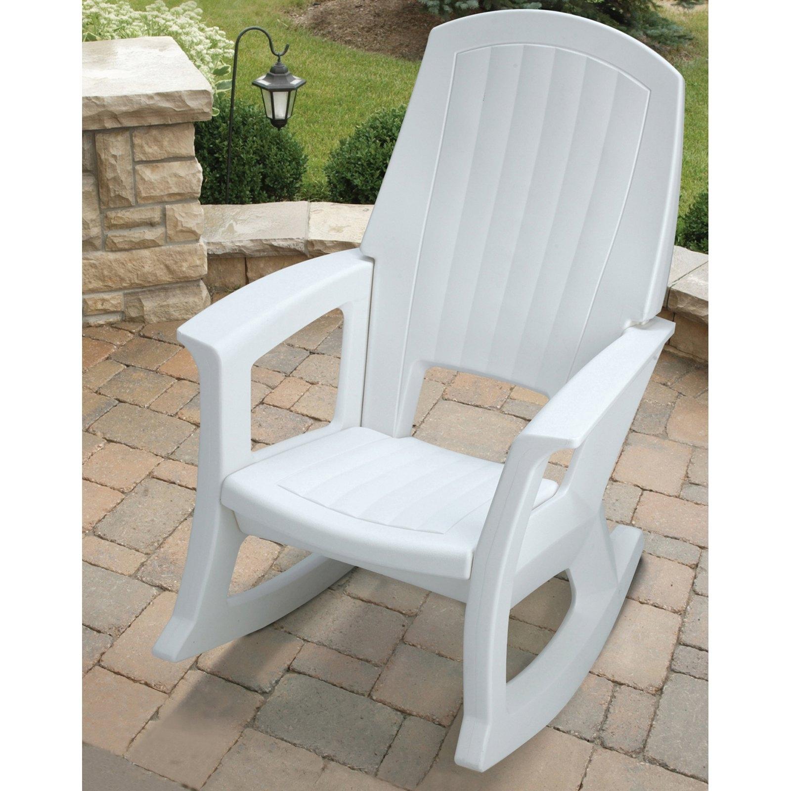 Popular Photo of Plastic Patio Rocking Chairs