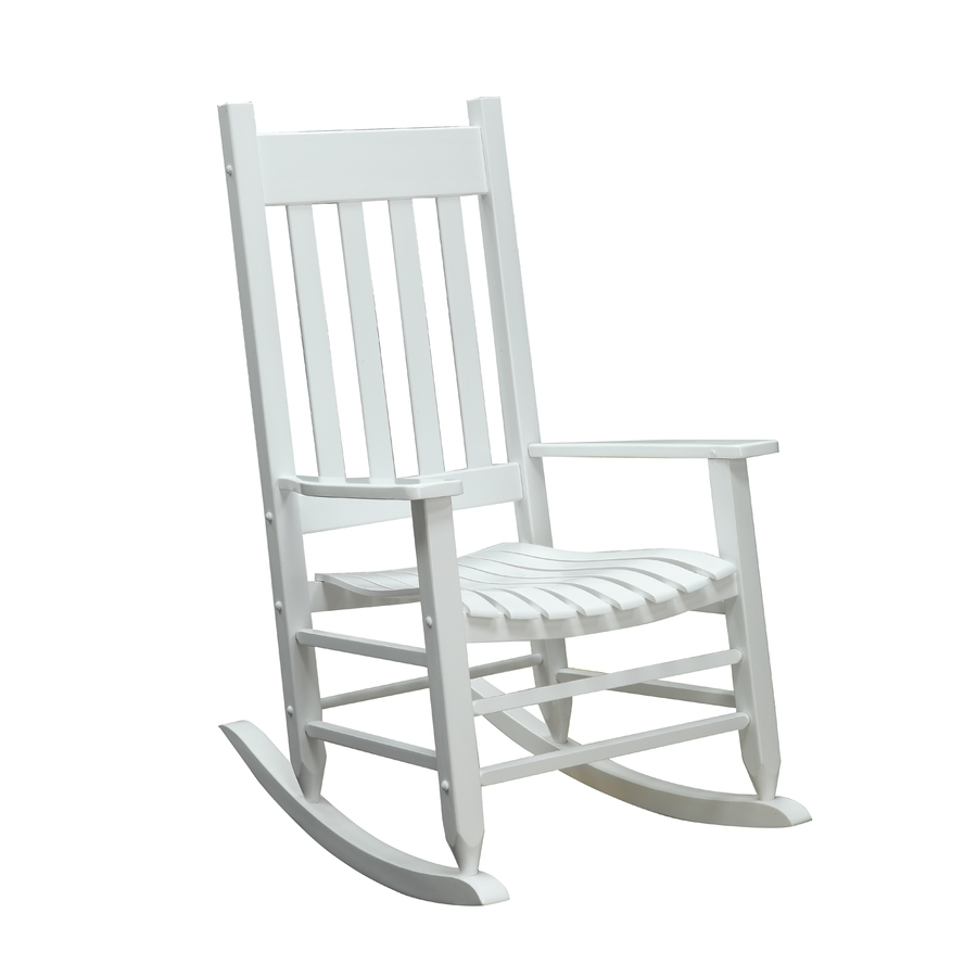 Shop Garden Treasures Patio Rocking Chair At Lowes With Lowes Rocking Chairs (#14 of 15)