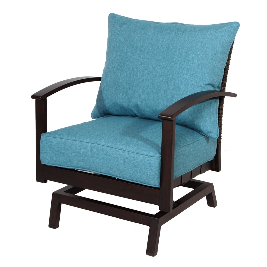 Shop Patio Chairs At Lowes With Inexpensive Patio Rocking Chairs (#14 of 15)