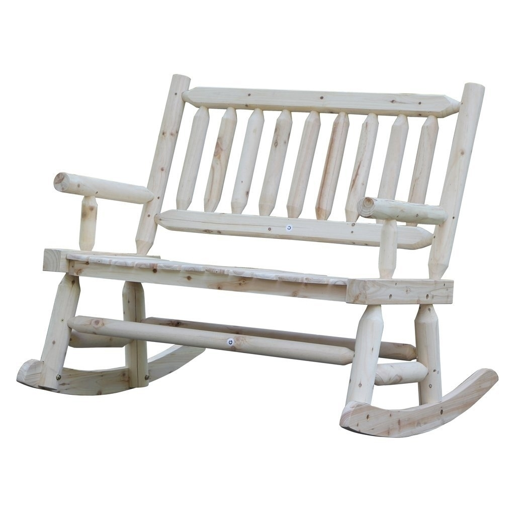 Shop Wooden Rocking Chair With Natural Material Comfortable In Oversized Patio Rocking Chairs (#12 of 15)