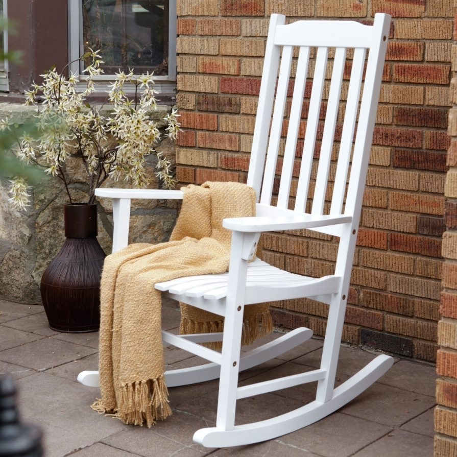 Small Chair Stool Tags : Porch Rocking Chairs White Folding Chairs In Small Patio Rocking Chairs (#13 of 15)