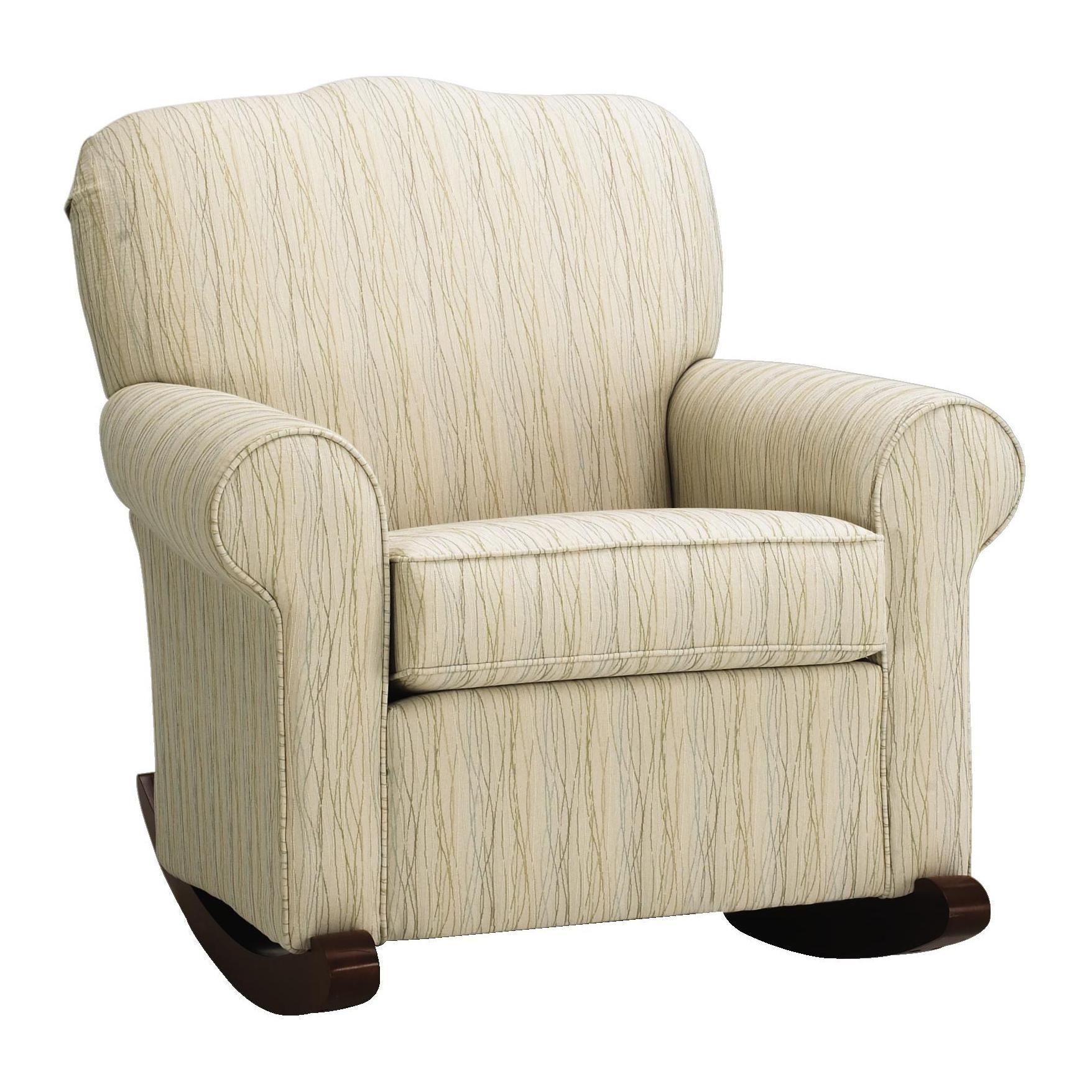 Popular Photo of Upholstered Rocking Chairs