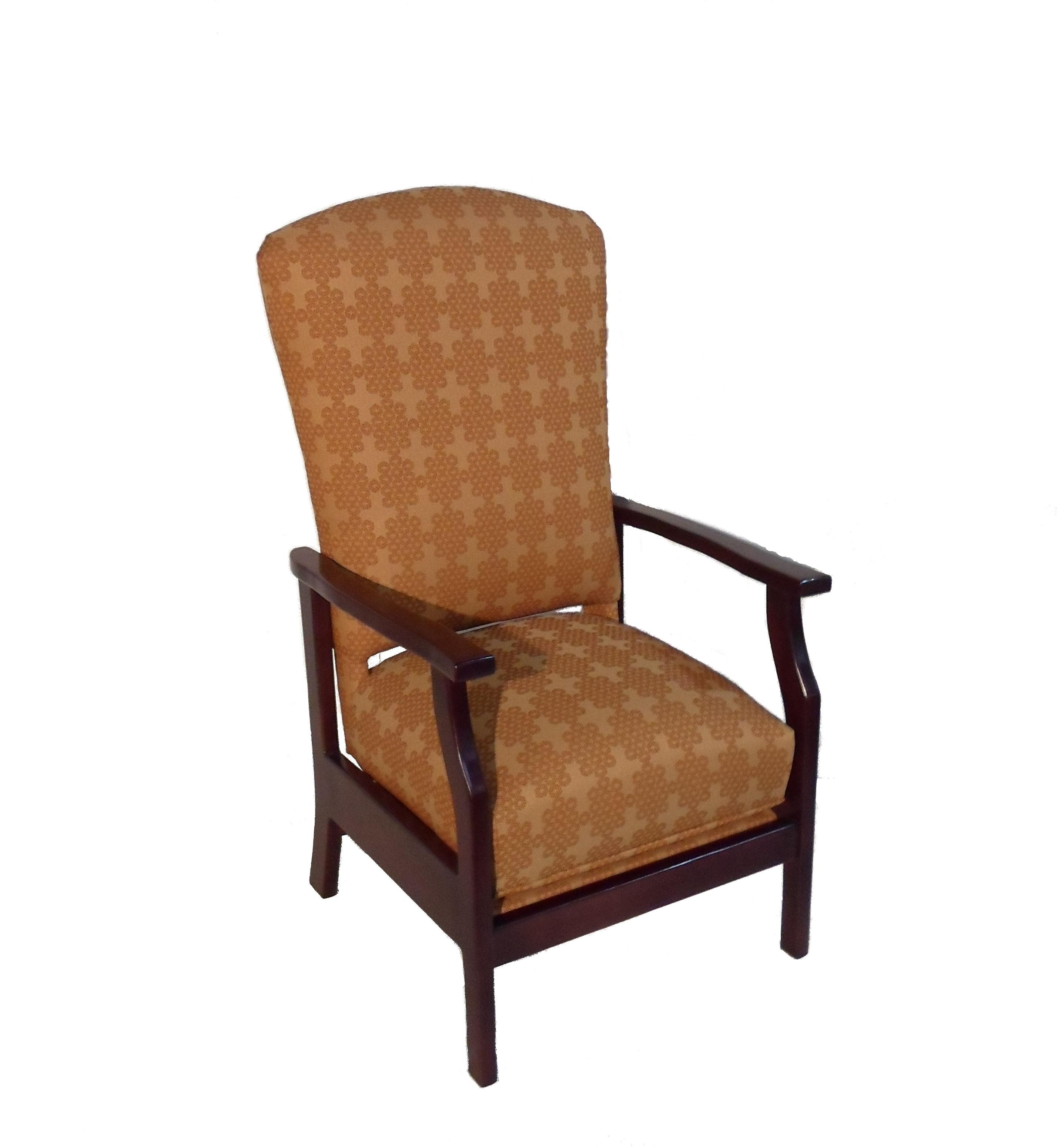 Stationary Rocking Chair With Lumbar Support – Twin Rivers Furnishings In Rocking Chairs With Lumbar Support (View 5 of 15)