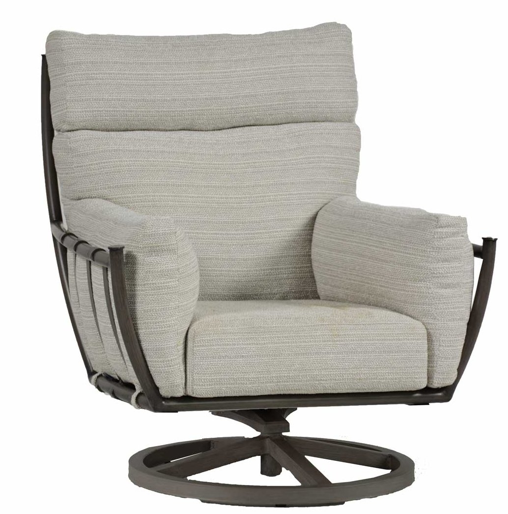 Summer Classics Majorca Swivel Rocking Chair With Cushion | Wayfair Inside Swivel Rocking Chairs (#14 of 15)