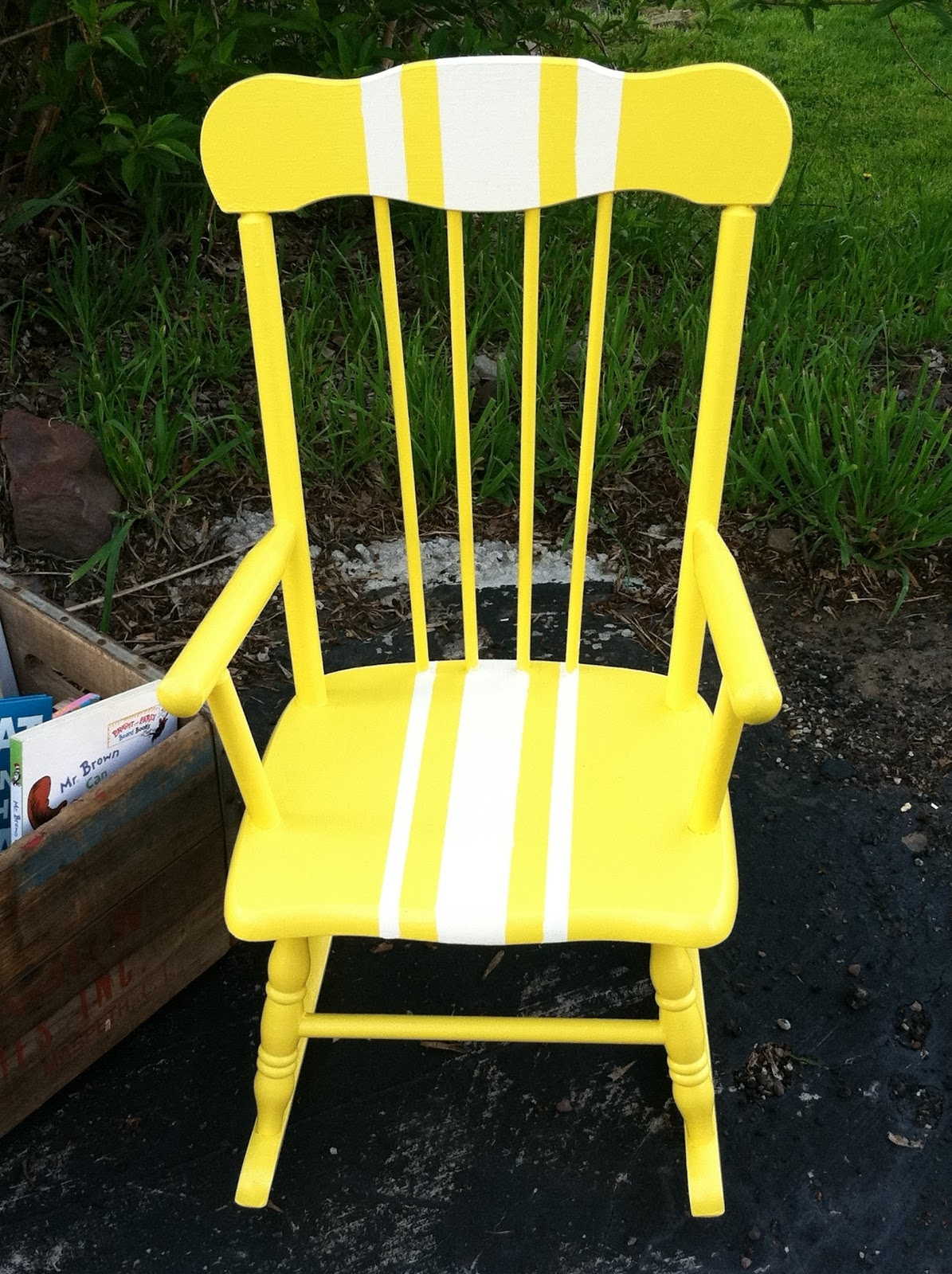 Sweet Rocking Chair Redo: Meet Adorable Adelaide With Rocking Chairs Adelaide (View 15 of 15)