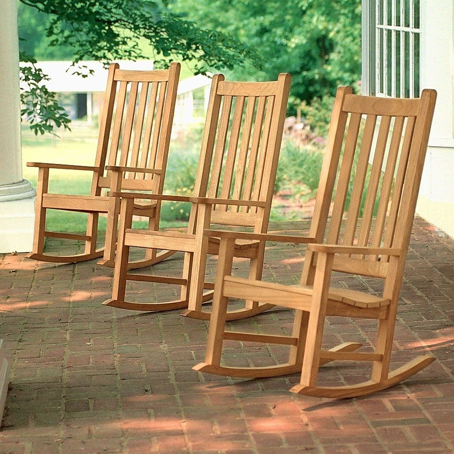 Inspiration about Teak Outdoor Chairs – Weymouth Rocking Chair | Country Casual For Rocking Chairs (#12 of 15)