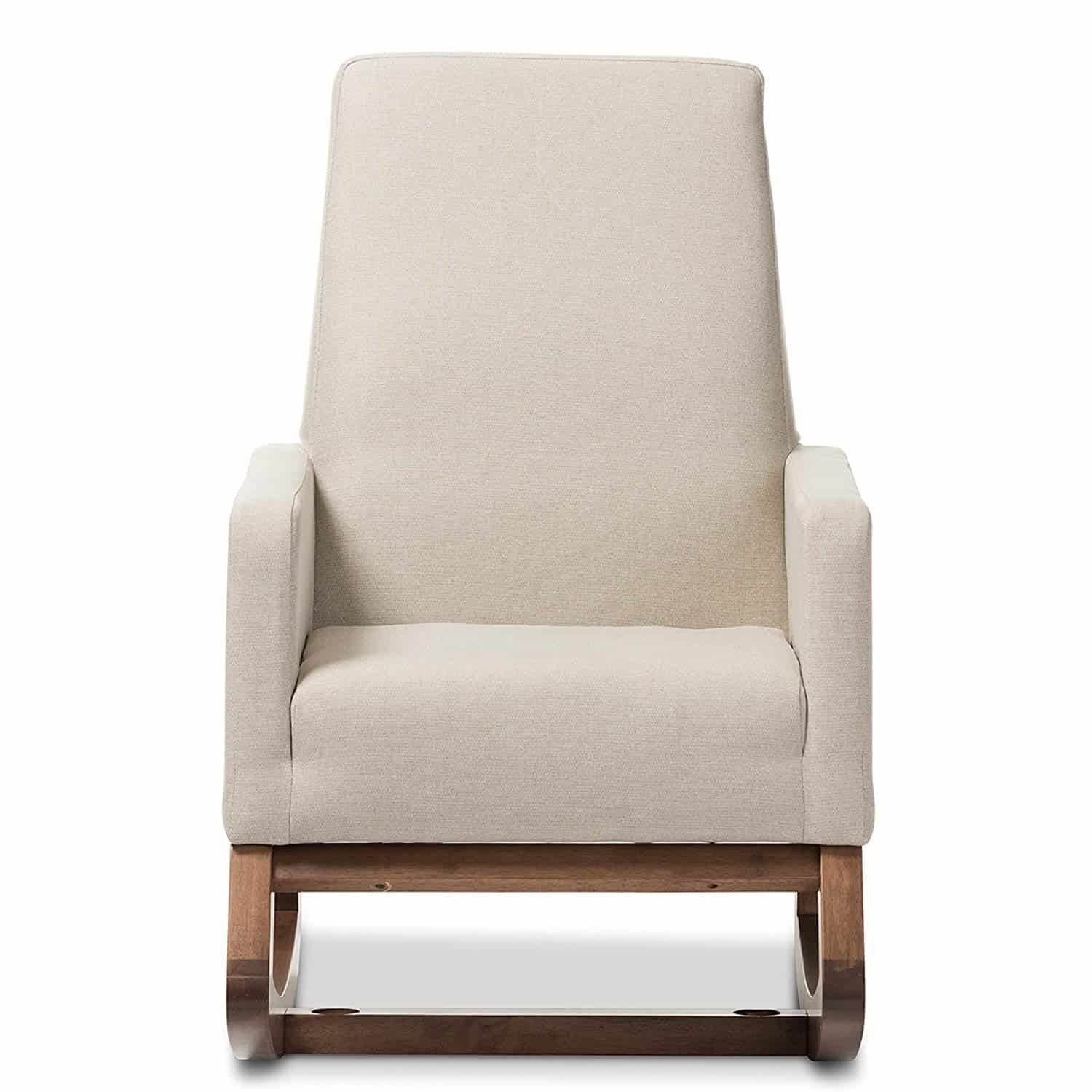 Inspiration about The Very Best Upholstered Rocking Chair Throughout Rocking Chairs With Lumbar Support (#11 of 15)