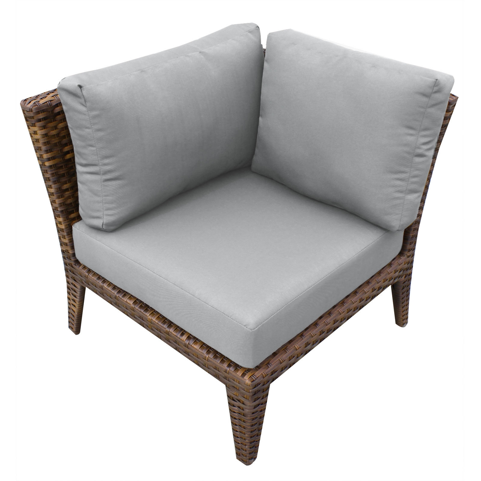 Tk Classics Manhattan Deep Seating Chair With Cushions | Wayfair With Regard To Manhattan Patio Grey Rocking Chairs (#15 of 15)