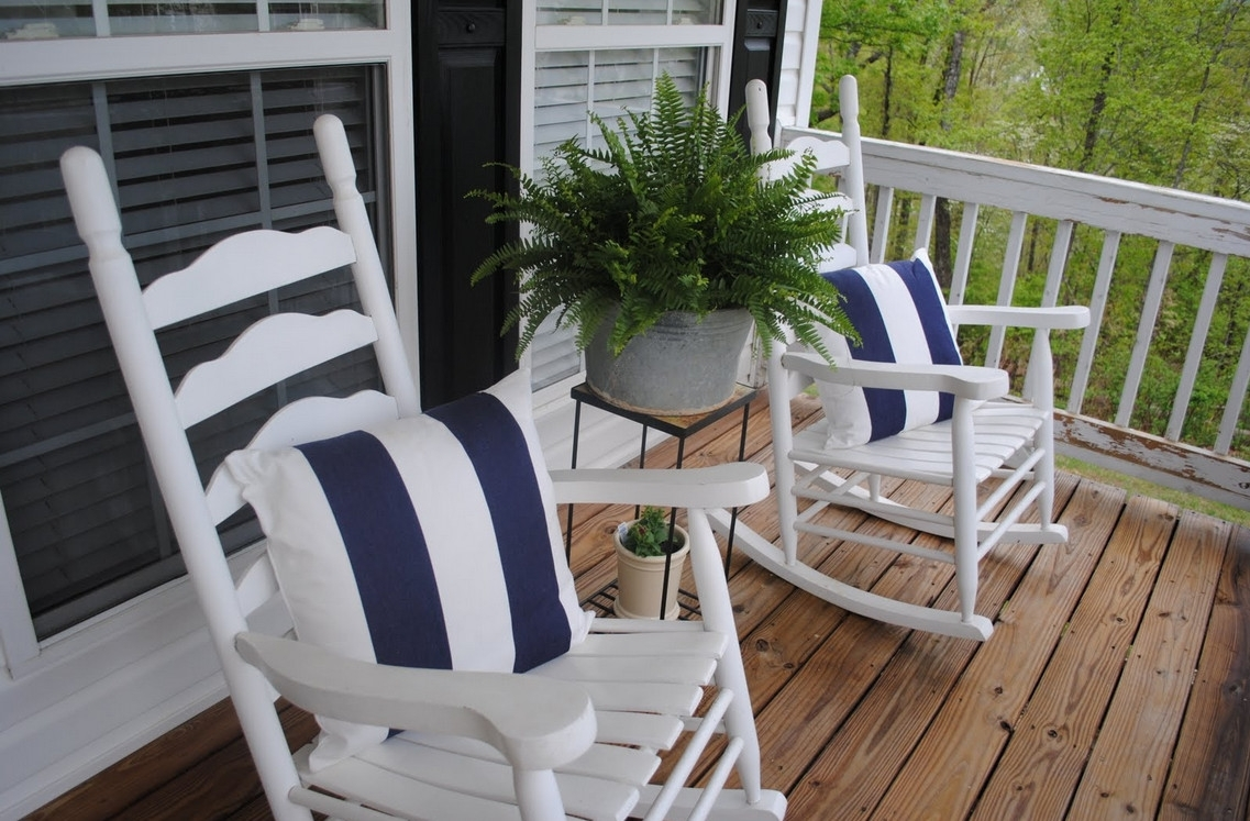 Inspiration about Unique Outdoor Patio Rocking Chairs With Throughout Small Patio Rocking Chairs (#7 of 15)