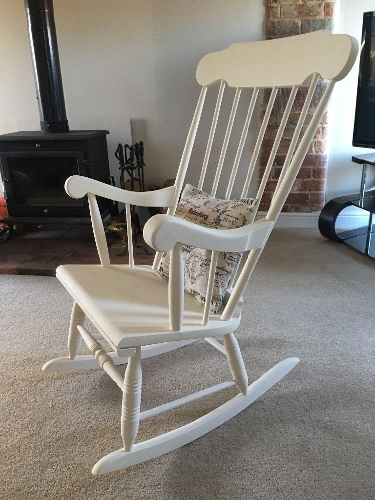 Inspiration about Upcycled Rocking Chair | In Lincoln, Lincolnshire | Gumtree Within Upcycled Rocking Chairs (#1 of 15)