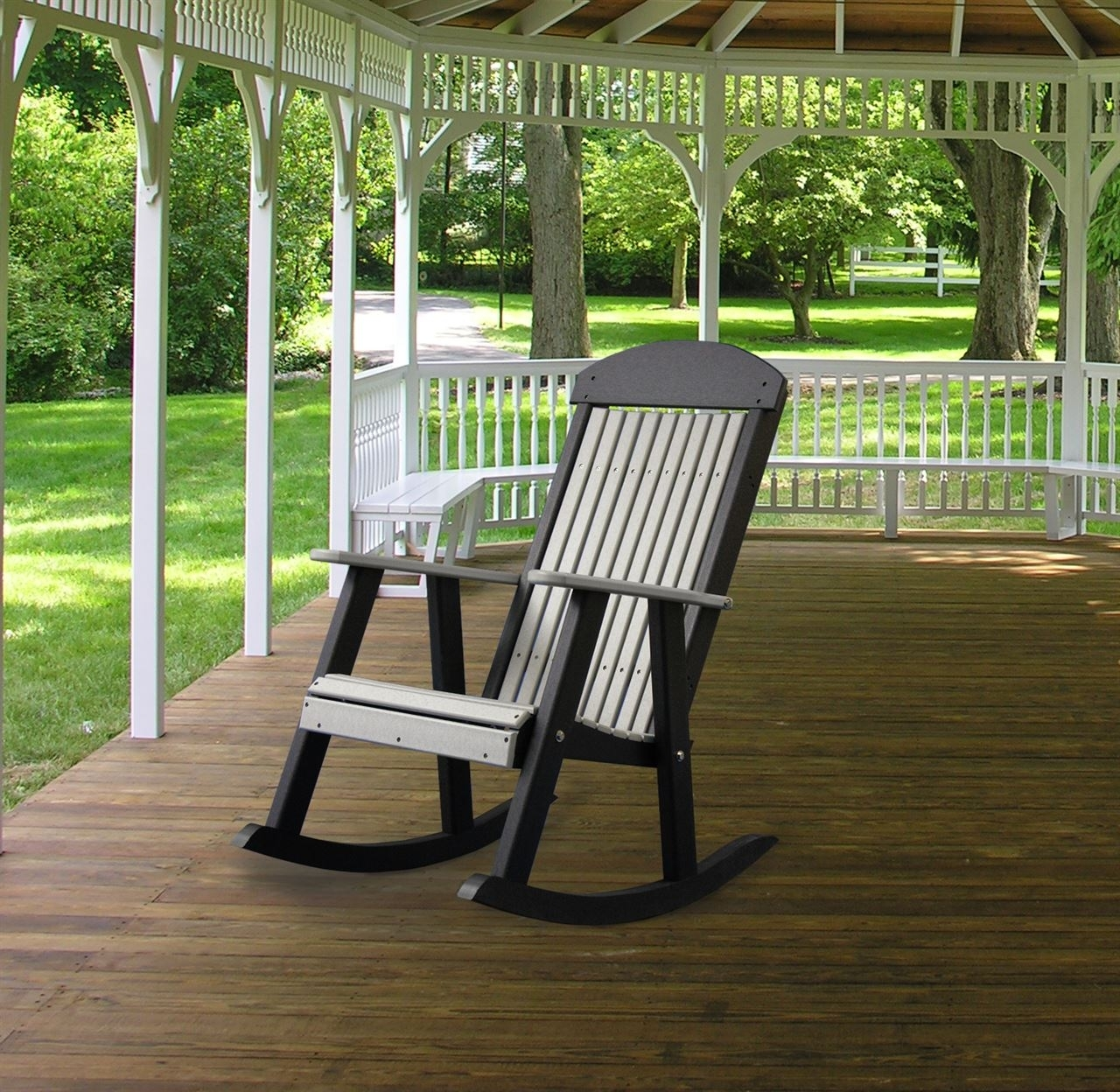 Inspiration about Vermont Teak Rocking Chair Cambridge Casual Frank Reenskaug Outdoor For Rocking Chairs For Porch (#10 of 15)