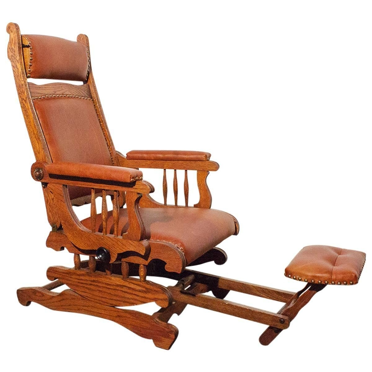 Inspiration about Victorian Platform Rocker With Foot Rest, Circa 1890 At 1Stdibs Within Rocking Chairs With Footrest (#3 of 15)
