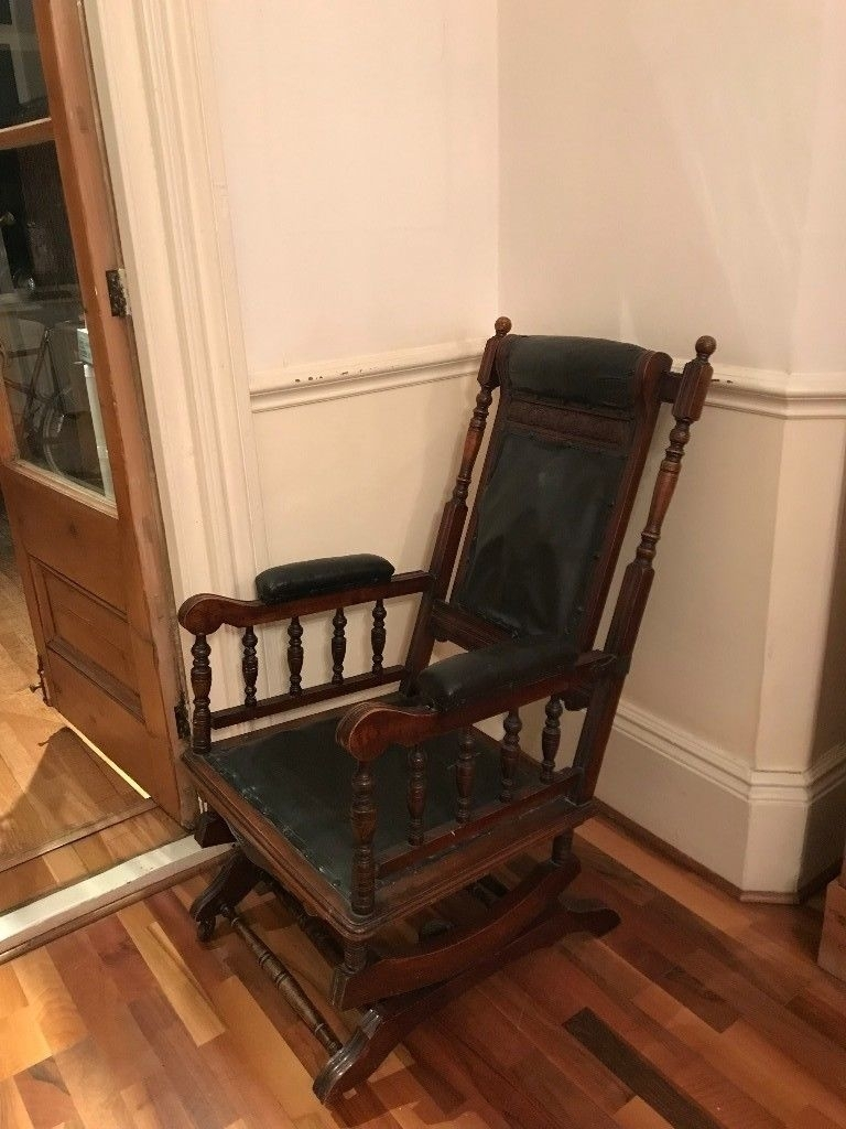 Victorian Rocking Chair | In Beckenham, London | Gumtree Pertaining To Victorian Rocking Chairs (View 13 of 15)