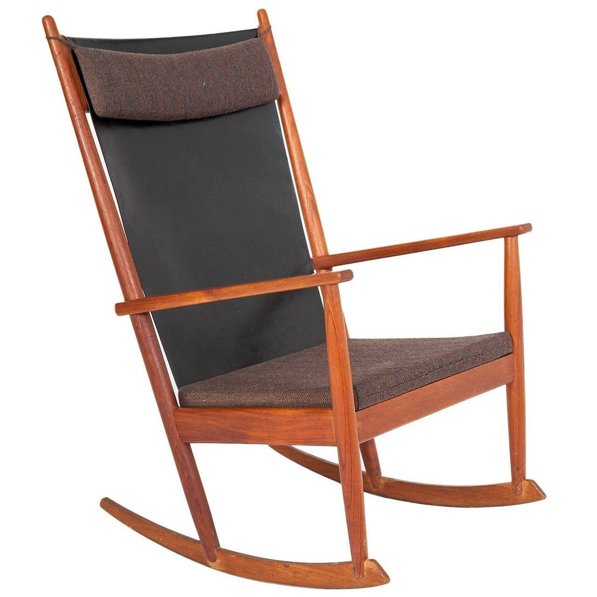 Inspiration about Vintage Rocking Chair In Teakhans Olsen For Sale At Pamono Intended For Retro Rocking Chairs (#10 of 15)