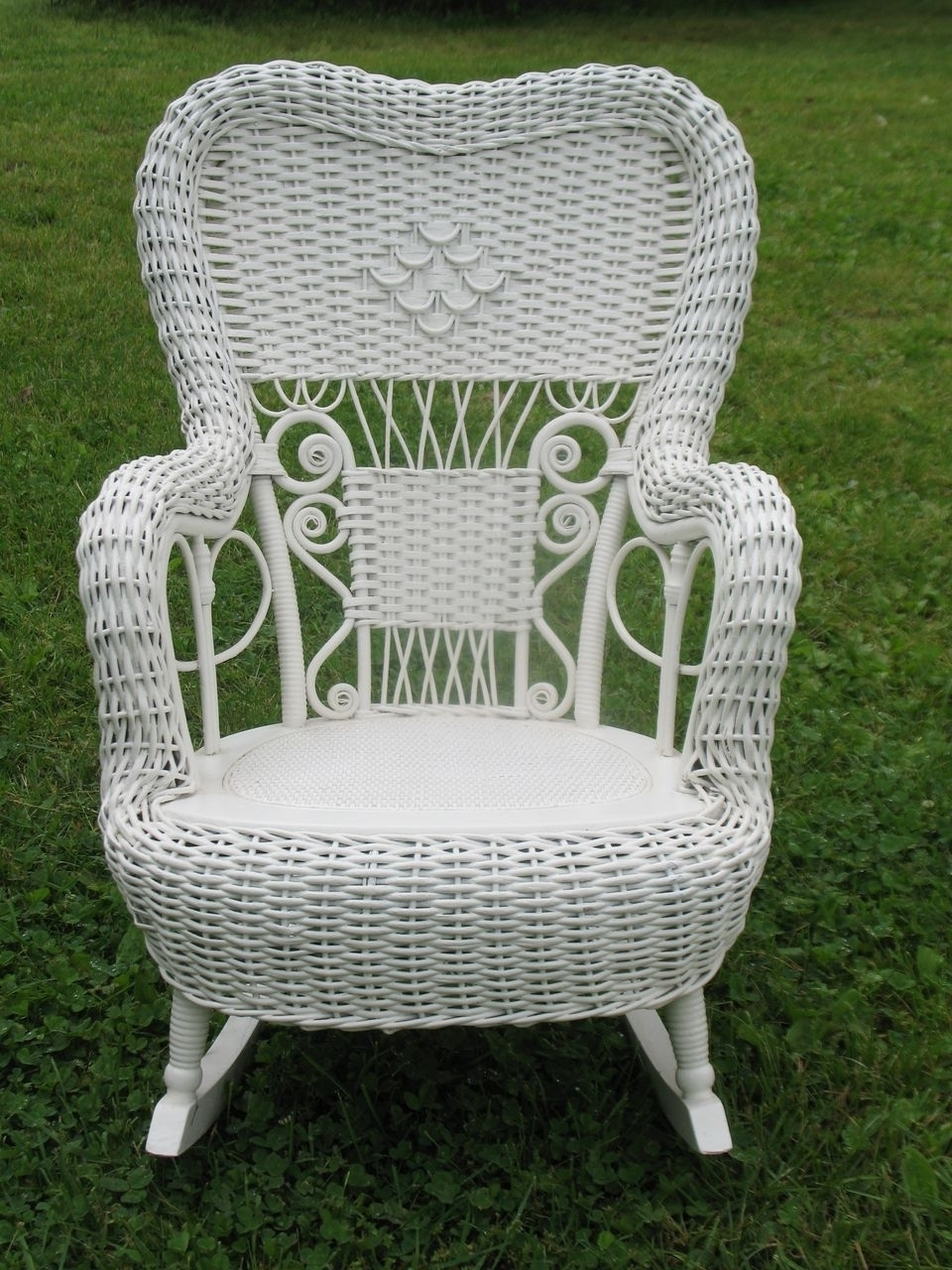 Vintage Wicker Rocking Chair | Modern Chair Decoration In Vintage Wicker Rocking Chairs (#13 of 15)