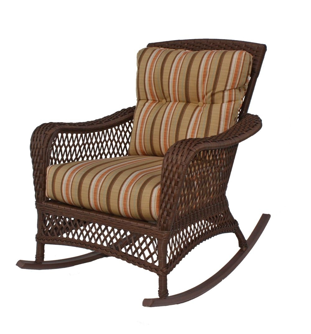 Vinyl Wicker Rocker: Savannah Collection Pinnedwickerparadise Pertaining To Outdoor Vinyl Rocking Chairs (View 13 of 15)