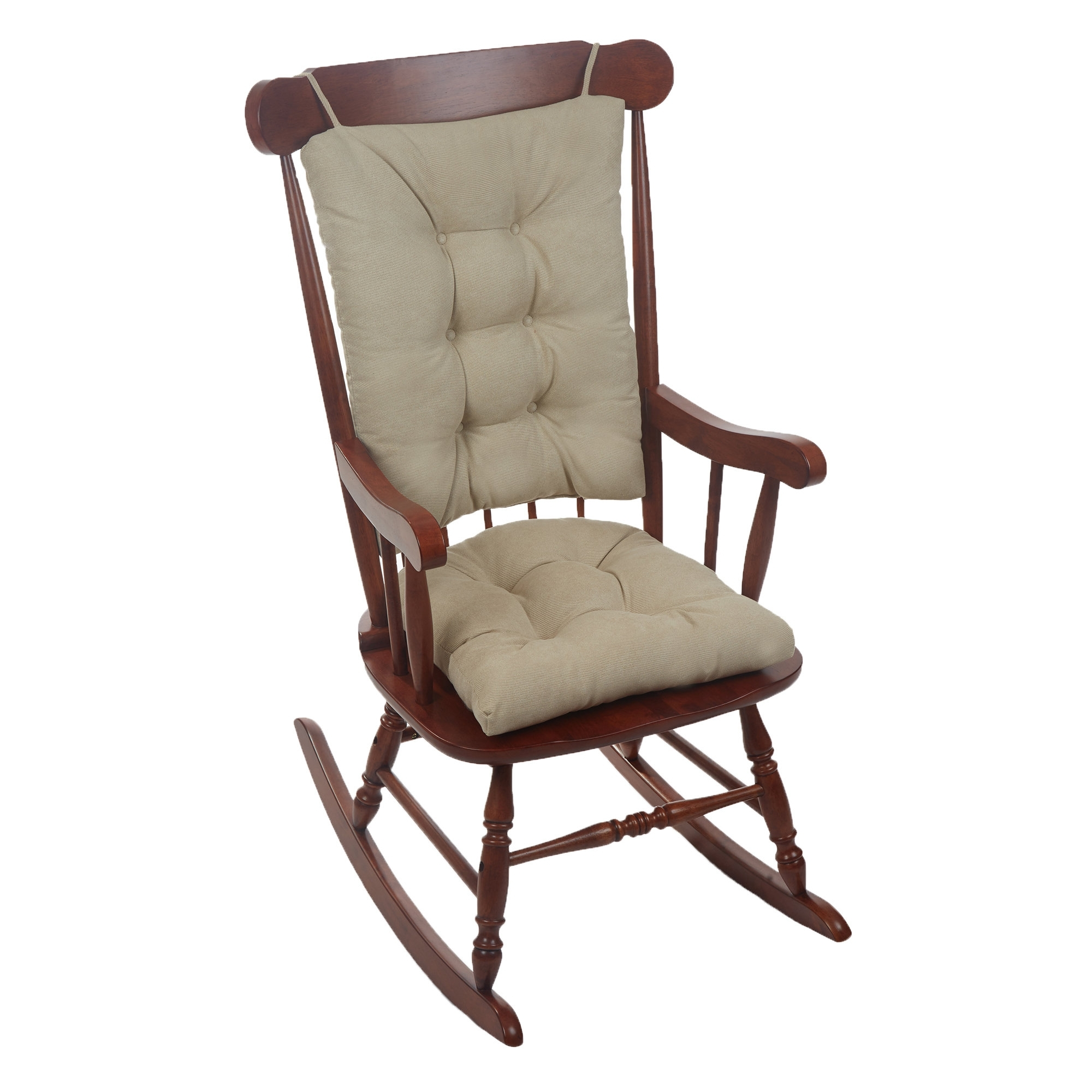 Wayfair Basics™ Wayfair Basics Rocking Chair Cushion & Reviews | Wayfair Within Rocking Chairs At Wayfair (#9 of 15)
