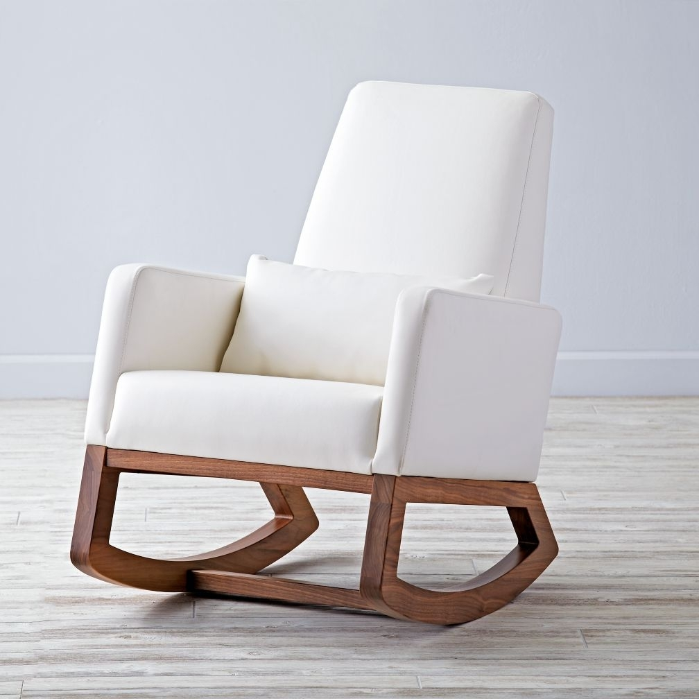 Inspiration about White Bentwood Rocking Chair Rocker White Nursery Chair Rocking Intended For White Wicker Rocking Chair For Nursery (#12 of 15)