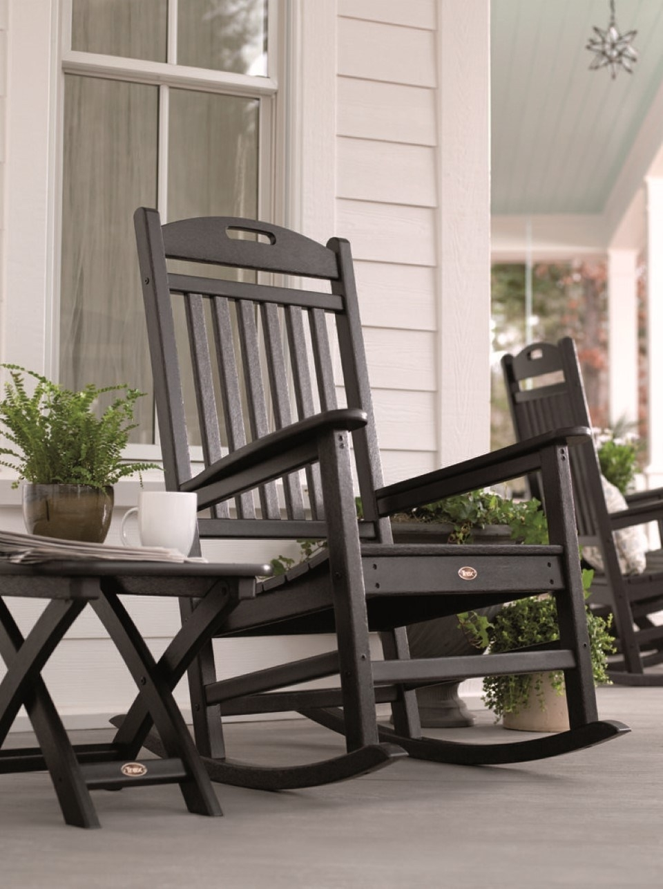 Winsome Most Outdoor Rocking Chair Outdoor Rocker Lowes Porch Rocker With Outdoor Vinyl Rocking Chairs (View 14 of 15)