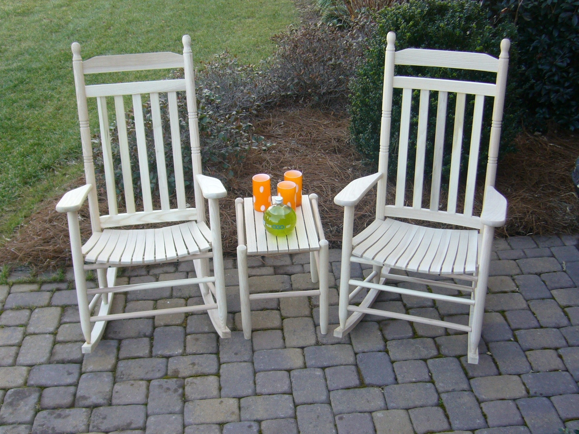 Wooden Outdoor Rocking Chairs For Modern Dixie Seating Standard Within Patio Rocking Chairs And Table (View 14 of 15)