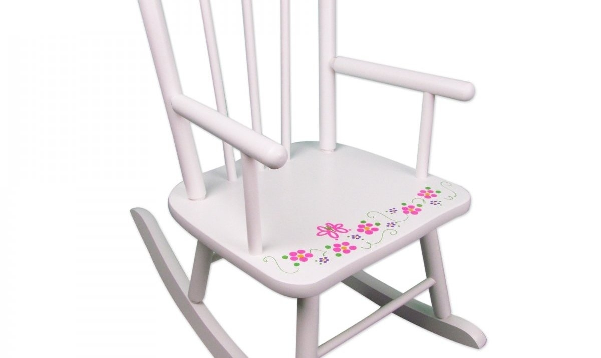 Wooden Rocking Chair For Toddler Girls | Wooden Thing Within Rocking Chairs For Toddlers (View 14 of 15)