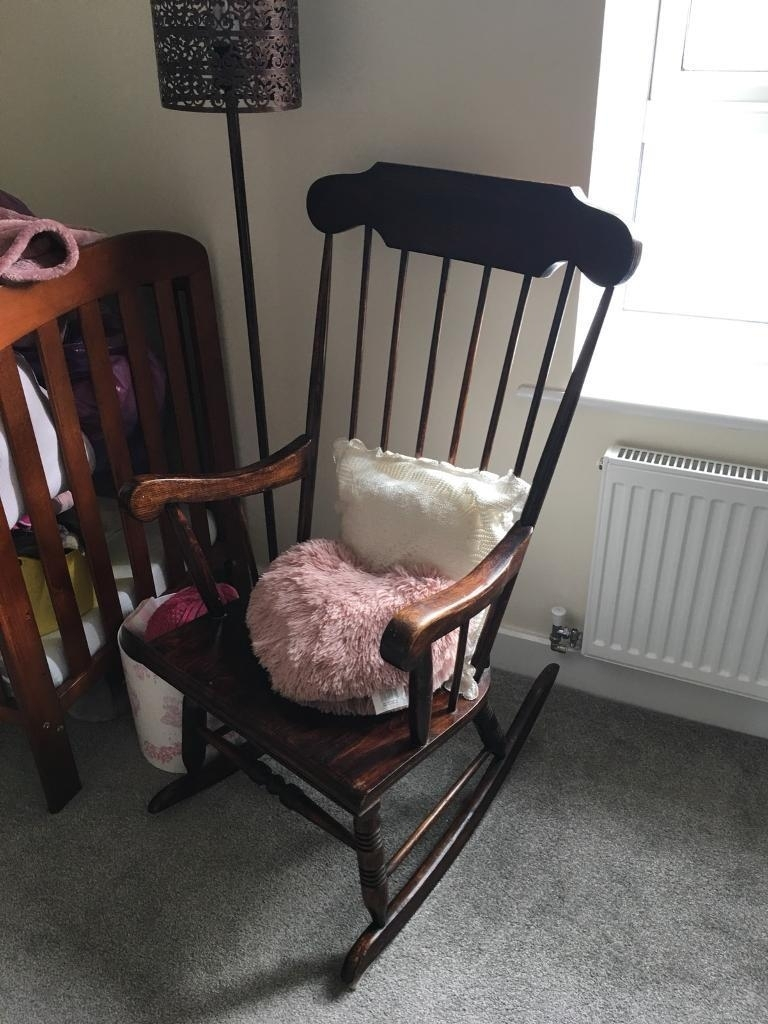 Wooden Rocking Chair | In Chipping Sodbury, Bristol | Gumtree Throughout Rocking Chairs At Gumtree (View 14 of 15)