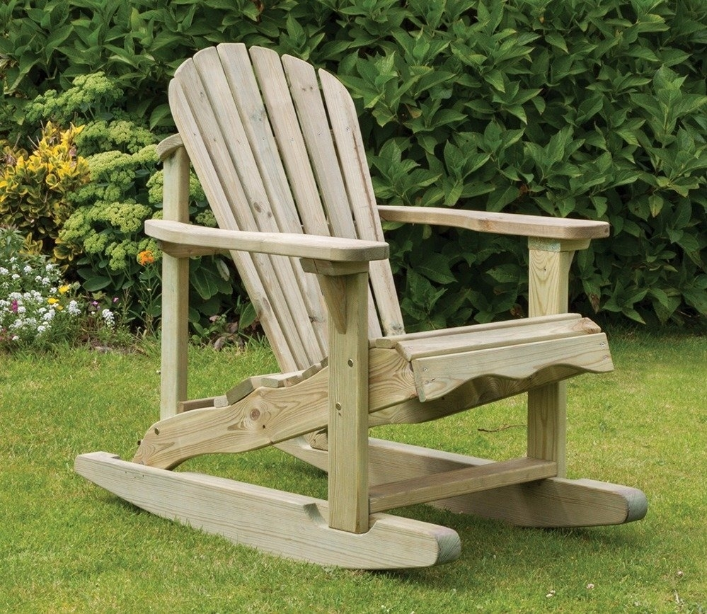 Inspiration about Zest Lily Rocking Chair – Gardensite.co.uk With Rocking Chairs For Garden (#1 of 15)