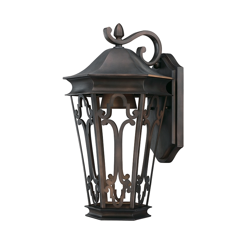 Inspiration about 1 Light Outdoor Wall Lantern | Capital Lighting Fixture Company With Outdoor Bronze Lanterns (#6 of 15)