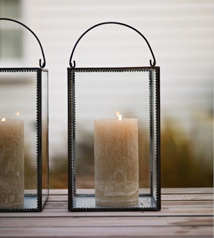 10 Easy Pieces: Outdoor Hurricane Lanterns – Gardenista Regarding Jumbo Outdoor Lanterns (#1 of 15)