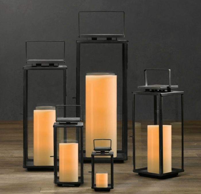10 Easy Pieces: Outdoor Hurricane Lanterns – Gardenista Within Outdoor Storm Lanterns (#3 of 15)