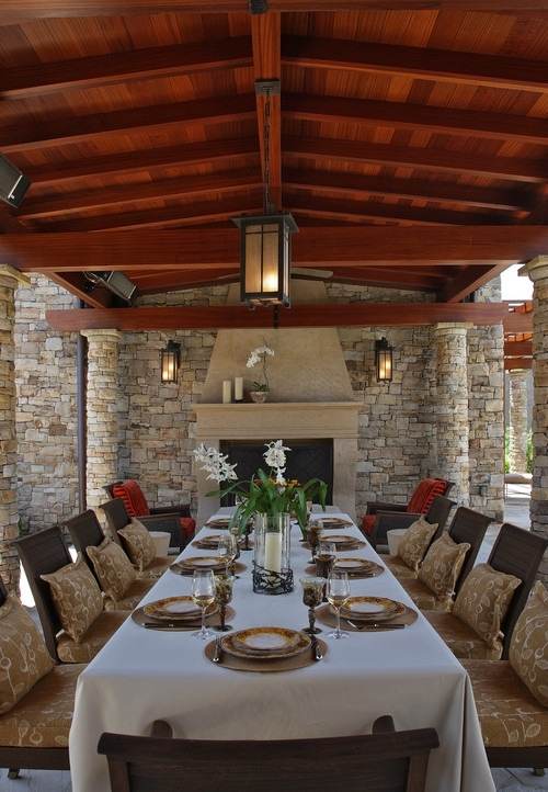 Inspiration about 10 Outdoor Dining Rooms That Make Eating Alfresco Seem, Outside With Outdoor Dining Lanterns (#15 of 15)