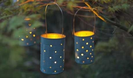 Inspiration about 10 Ways To Light Up The Night | Craft, Crafty And Gardens Within Outdoor Empty Lanterns (#9 of 15)