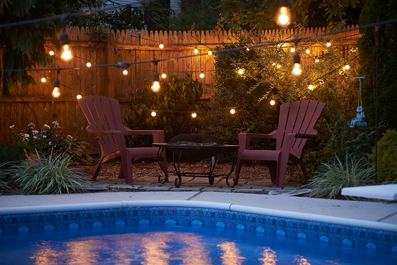 Inspiration about 100 Ft. Commercial Outdoor String Lights – Drop Socket Regarding Outdoor Rope Lanterns (#12 of 15)