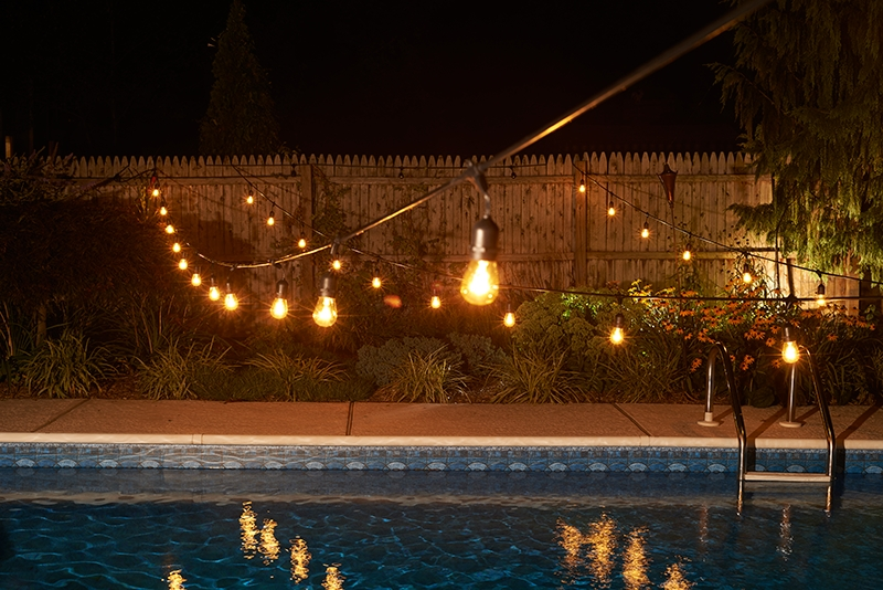 Inspiration about 100 Ft. Commercial Outdoor String Lights – Drop Socket Regarding Outdoor Rope Lanterns (#6 of 15)