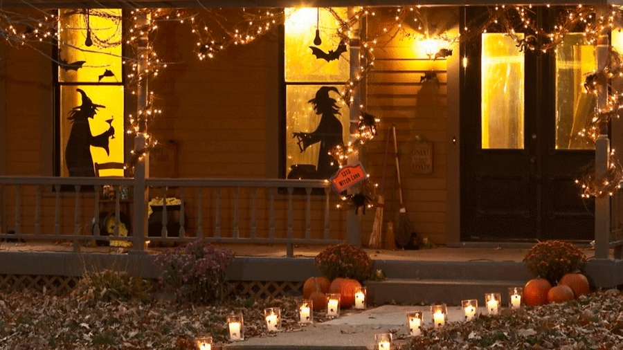 Inspiration about 100 Outdoor Halloween Decoration Ideas You Should Diy This Year Pertaining To Outdoor Halloween Lanterns (#9 of 15)