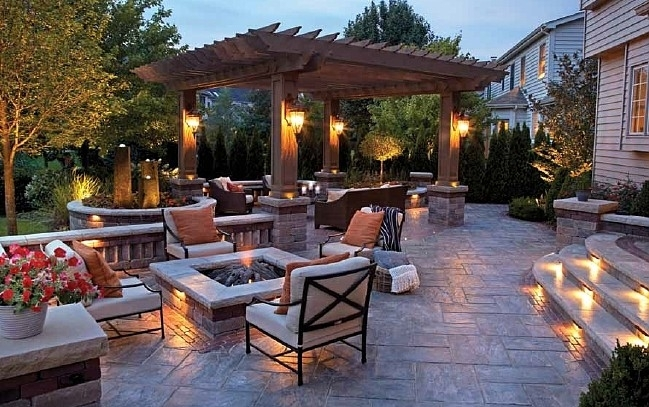 100 Stunning Patio Outdoor Lighting Ideas (with Pictures) Throughout Outdoor Landscape Lanterns (View 4 of 15)
